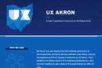 UX Akron Screenshot